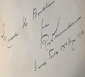 The South Pole (Signed/presentation copy): Amundsen, Roald