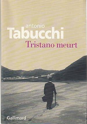 Image du vendeur pour Tristano meurt, mis en vente par L'Odeur du Book