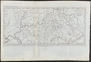 Map of Kentucky, Reduced from Elihu Barker's Large Map