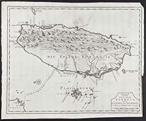 First Printed Map of Formosa, Taiwan
