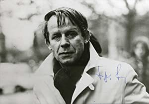 Siegfried Lenz autograph | Signed photograph, head: Lenz, Siegfried