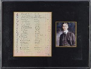 John Ronald Reuel Tolkien autograph | Signed: Tolkien, J. R.