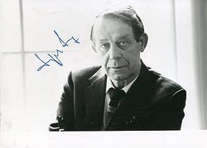 Siegfried Lenz autograph | Signed photograph: Lenz, Siegfried