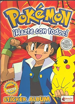 Album de Cromos: COMPLETO: pokemon Sticker album
