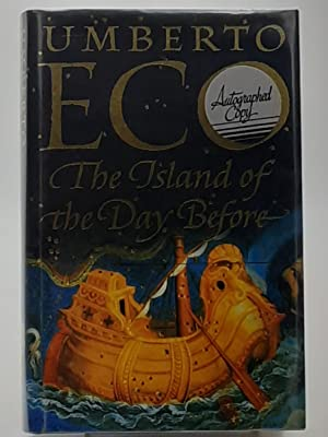 The Island of the Day Before.: Eco, Umberto.