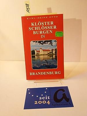 Klöster, Schlösser, Burgen in Brandenburg.: Otto, Karl-Heinz