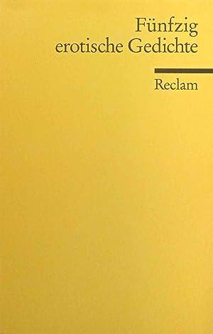 Fünfzig erotische Gedichte. ausgew. von Harry Fröhlich: Fröhlich, Harry (Herausgeber):