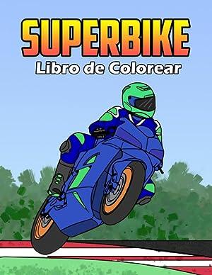 Superbike Libro de Colorear: Osam Colors