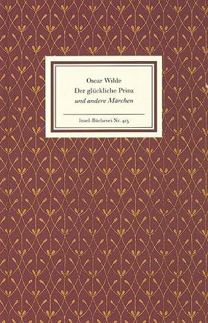 Der glückliche Prinz und andere Erzählungen: Oscar Wilde
