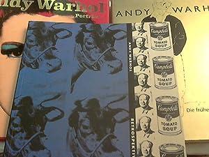 3 Titel Andy Warhol ++ retrospektiv : Warhol, Andy (Illustrator),