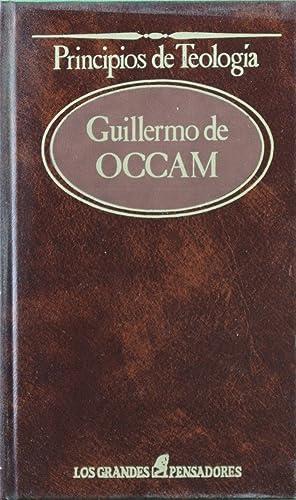 Principios de teología: William of Ockham