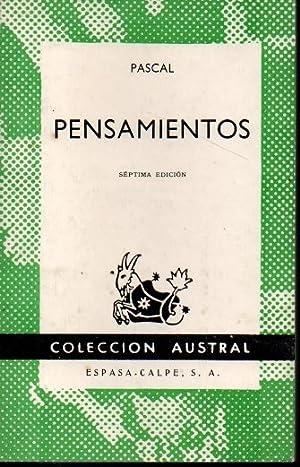 PENSAMIENTOS.: PASCAL.