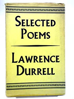 Selected Poems: Lawrence Durrell