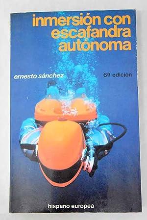 Imagen del vendedor de Inmersión con escafandra autónoma a la venta por Alcaná Libros
