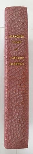 Image du vendeur pour L'Affaire Blaireau. Roman. mis en vente par Rometti Vincent