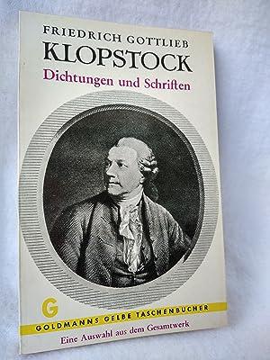 Bild des Verkäufers für Dichtungen und Schriften. Eine Auswahl aus dem Gesamtwerk. (= Goldmanns Gelbe Taschenbücher) zum Verkauf von GoodOldBooksAndStuff Ivonne Floeder