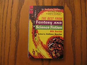 The Best from Fantasy and Science Fiction: Anthony Boucher (editor);