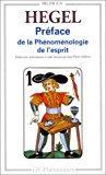 Préface de la phénoménologie de l'esprit: Georg Wilhelm Friedrich