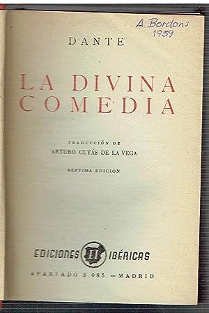 La Divina comedia.: Dante.