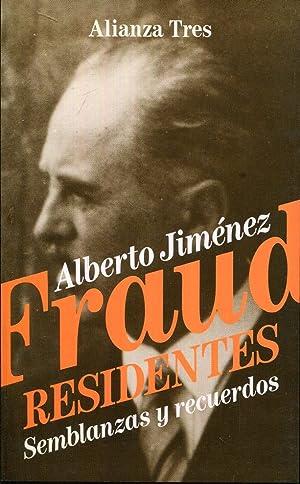 Residentes. Semblanzas y recuerdos: Jiménez Fraud, Alberto