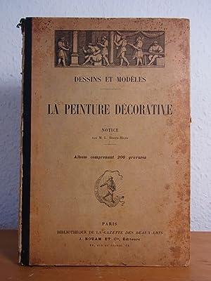 Dessins et modèles. La peinture décorative. Album: Roger-Milès, M. L.: