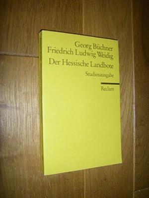Der Hessische Landbote. Studienausgabe: Büchner, Georg/Weidig, Friedrich