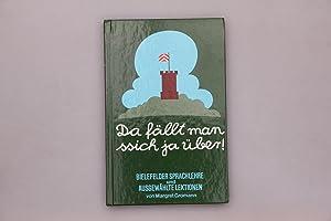 DA FÄLLT MAN SSICH JA ÜBER!. Bielefelder: Gromann, Margret