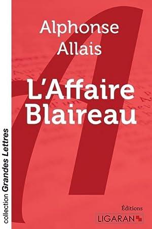 Image du vendeur pour L'Affaire Blaireau (grands caractères) mis en vente par AHA-BUCH GmbH
