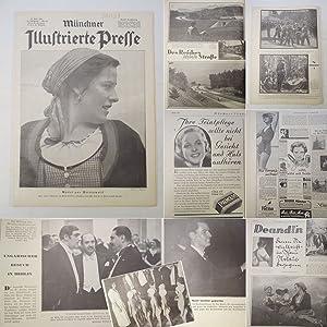 Seller image for Münchner Illustrierte Presse. 13. Jahrgang 1936, Nr. 24, 11. Juni 1936 * L e o n D e g r e l l e als Wahlkämpfer / Begräbnis von G e n e r a l L i t z m a n n in Anwesenheit von A d o l f H i t l e r for sale by Galerie für gegenständliche Kunst