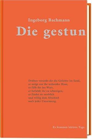 Die gestundete Zeit: Gedichte (Die Graphischen Bücher: Ingeborg Bachmann, Christian