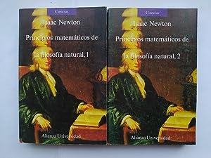 Principios Matemáticos de La Filosofía Natural. 2: Isaac Newton. TDK638