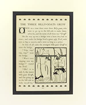 """The Three Billy Goats Gruff"""": from East: Nielsen, Kay."""