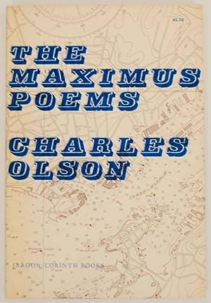 Imagen del vendedor de The Maximus Poems a la venta por Jeff Hirsch Books, ABAA