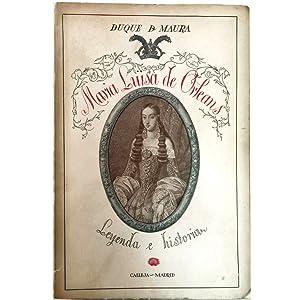 MARIA LUISA DE ORLEANS, REINA DE ESPAÑA.: Duque De Maura