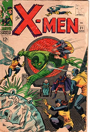 Seller image for The X-MEN Marvel Comics Group, Vol. 1, No. 21, June 1966 for sale by PERIPLUS LINE LLC