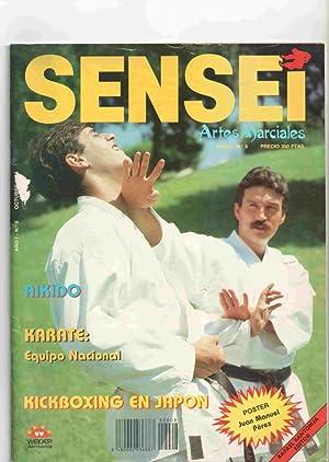 Imagen del vendedor de Revista: Sensei año I num 8 Octubre 1988. Artes Marciales - Incluye poster de Juan Manuel Perez, Kick boxing en Japon a la venta por El Boletin