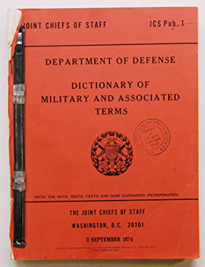 Department of Defense Dictionary of Military and: U.S. Joint Chiefs