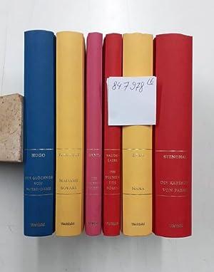 Lesepaket Französische Literatur des 19. Jahrhunderts (Konvolut: Hugo, Victor, Gustave