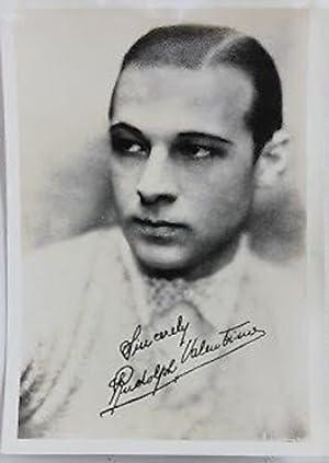 Fotografia cinema attore - Rodolfo Valentino 1926