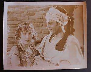 Fotografia cinema Rodolfo Valentino Agnes Ayres 1926