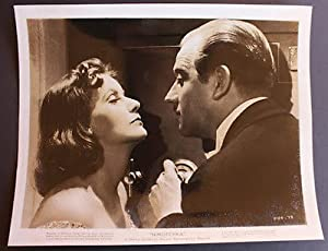 Fotografia d'epoca cinema Greta Garbo con Melvyn