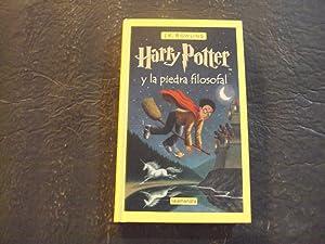 Imagen del vendedor de Harry Potter y la piedra filosofal hc J.K. Rowling 1997 Salamandra a la venta por Joseph M Zunno