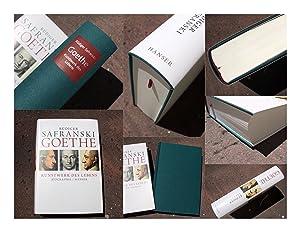 Goethe. Kunstwerk des Lebens. Biografie. Schutzumschlag von: Safranski, Rüdiger