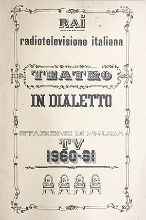 Teatro in dialetto: Palmieri, Ferdinando- Zardi,