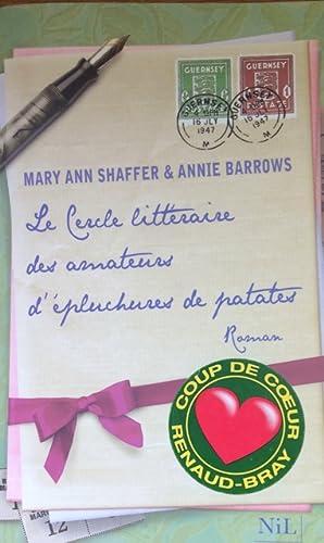 Image du vendeur pour Le cercle littéraire des amateurs d'épluchures de patates (French Edition) mis en vente par Livres Norrois