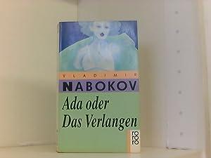 Ada oder Das Verlangen Aus das Annalen: Nabokov, Vladimir: