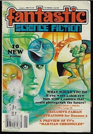 FANTASTIC Science Fiction: January, Jan. 1980: Fantastic (Steve Fabian;