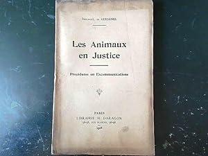 Edouard-L. de Kerdaniel. Les Animaux en justice,: Le Marant de
