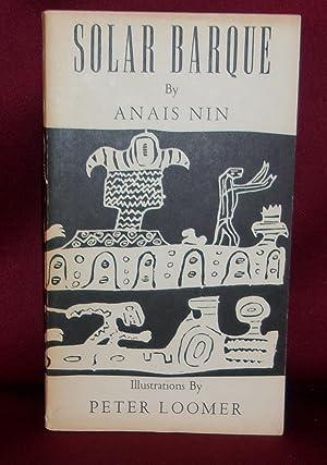 SOLAR BARQUE: Nin, Anais; Illustrations
