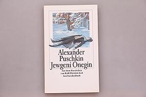 JEWGENI ONEGIN. Roman in Versen: Puschkin, Alexander